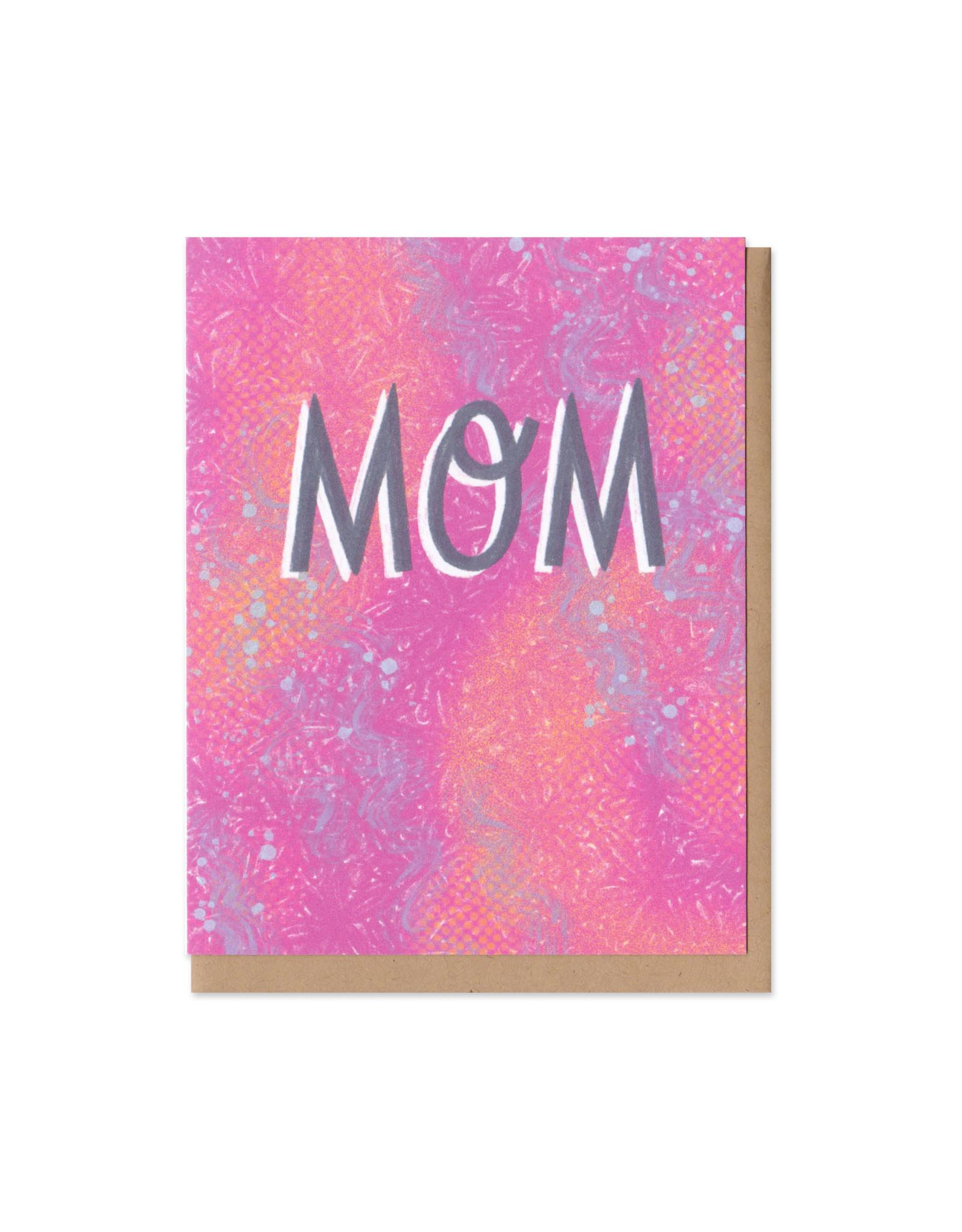 Colorful Classics Mom Greeting Card