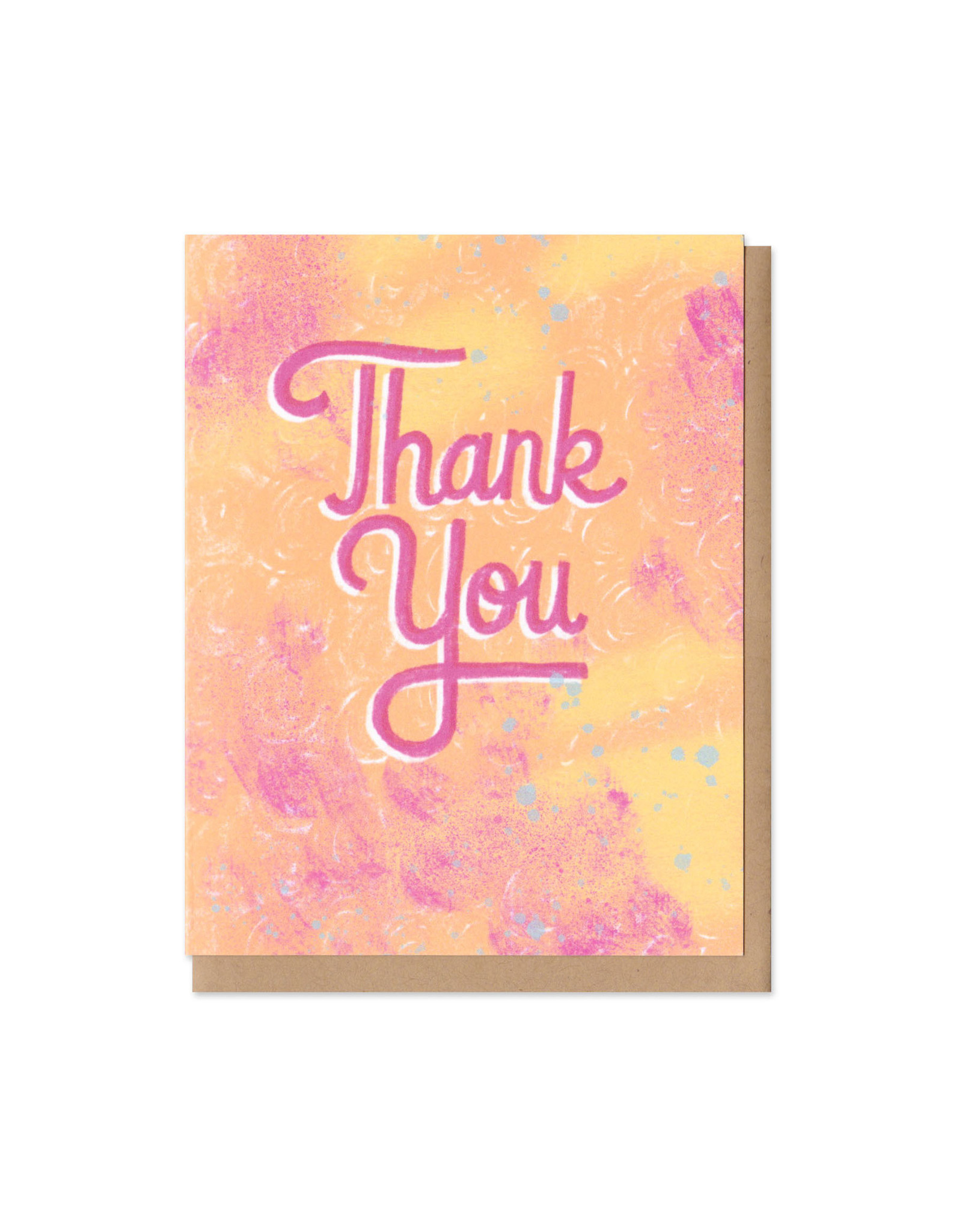 Colorful Classics Thank You Greeting Card