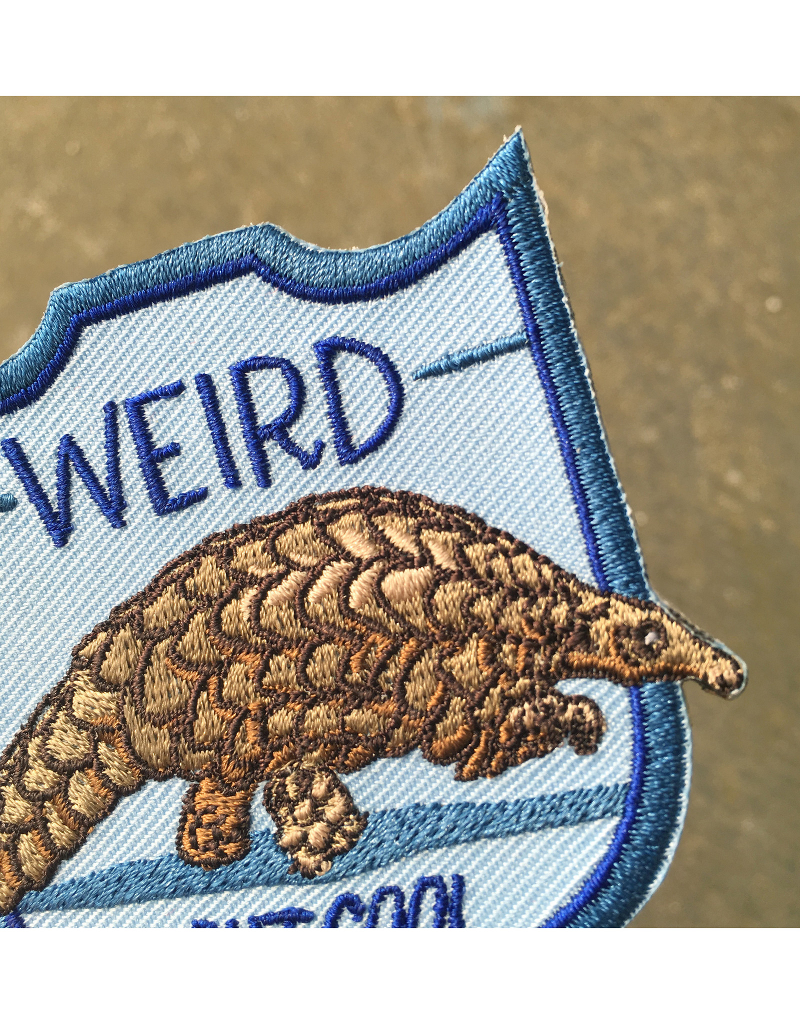 "Pangolin ""Weird But Cool"" Patch"