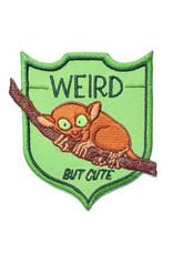 """Tarsier """"Weird But Cute"""" Patch"""