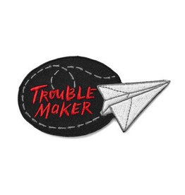 Trouble Maker Paper Airplane Patch