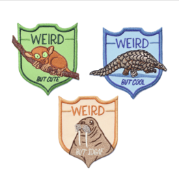 Weird Animals Patch Set of 3