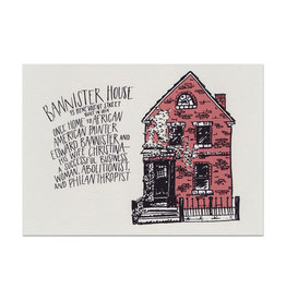 Bannister House Print