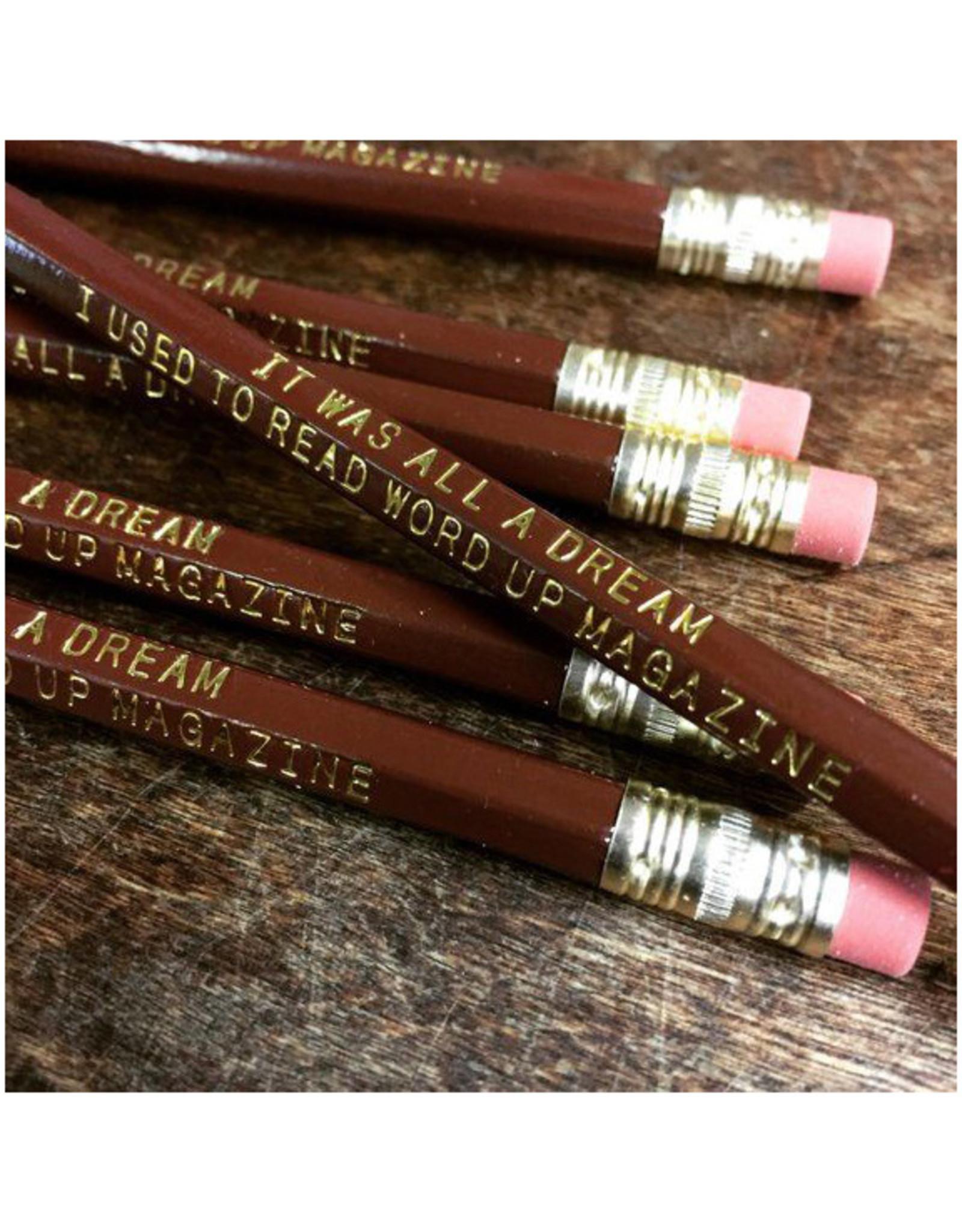 Biggie Pencils Set of 6