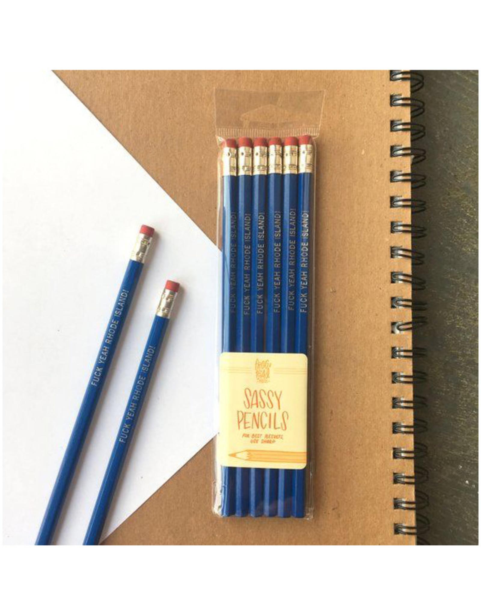 Fuck Yeah RI Pencils Set of 6