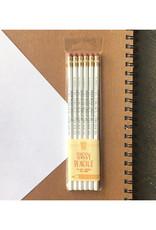 NWA Pencils Set of 6