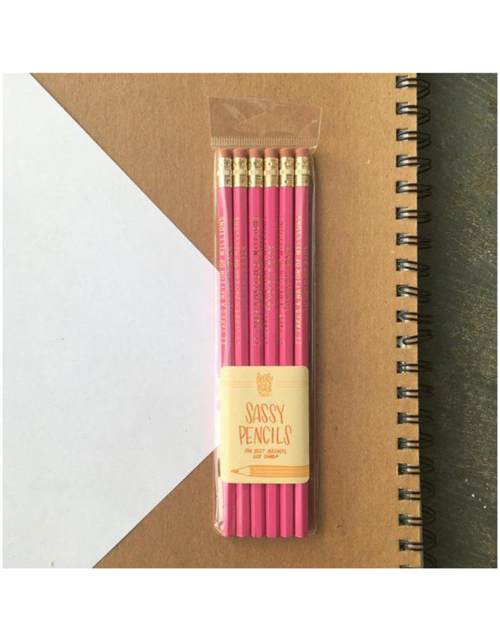 Public Enemy Pencils Set of 6