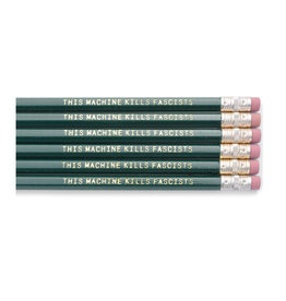 Woody Guthrie Pencils Set of 6