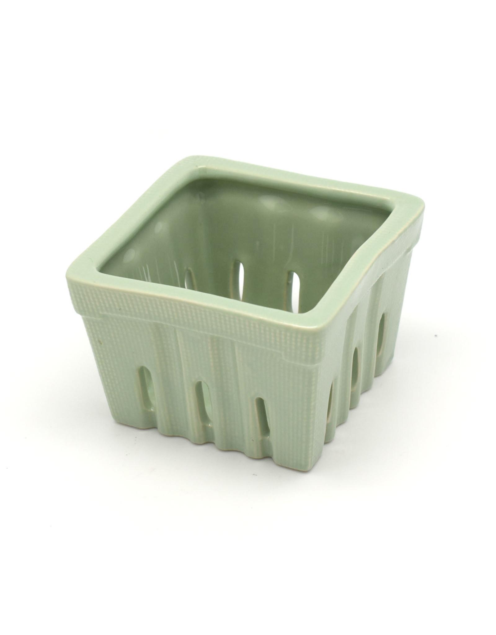 Stoneware Berry Basket
