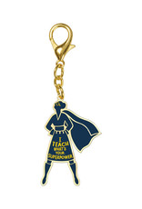 I Teach, What's Your Superpower? Keychain