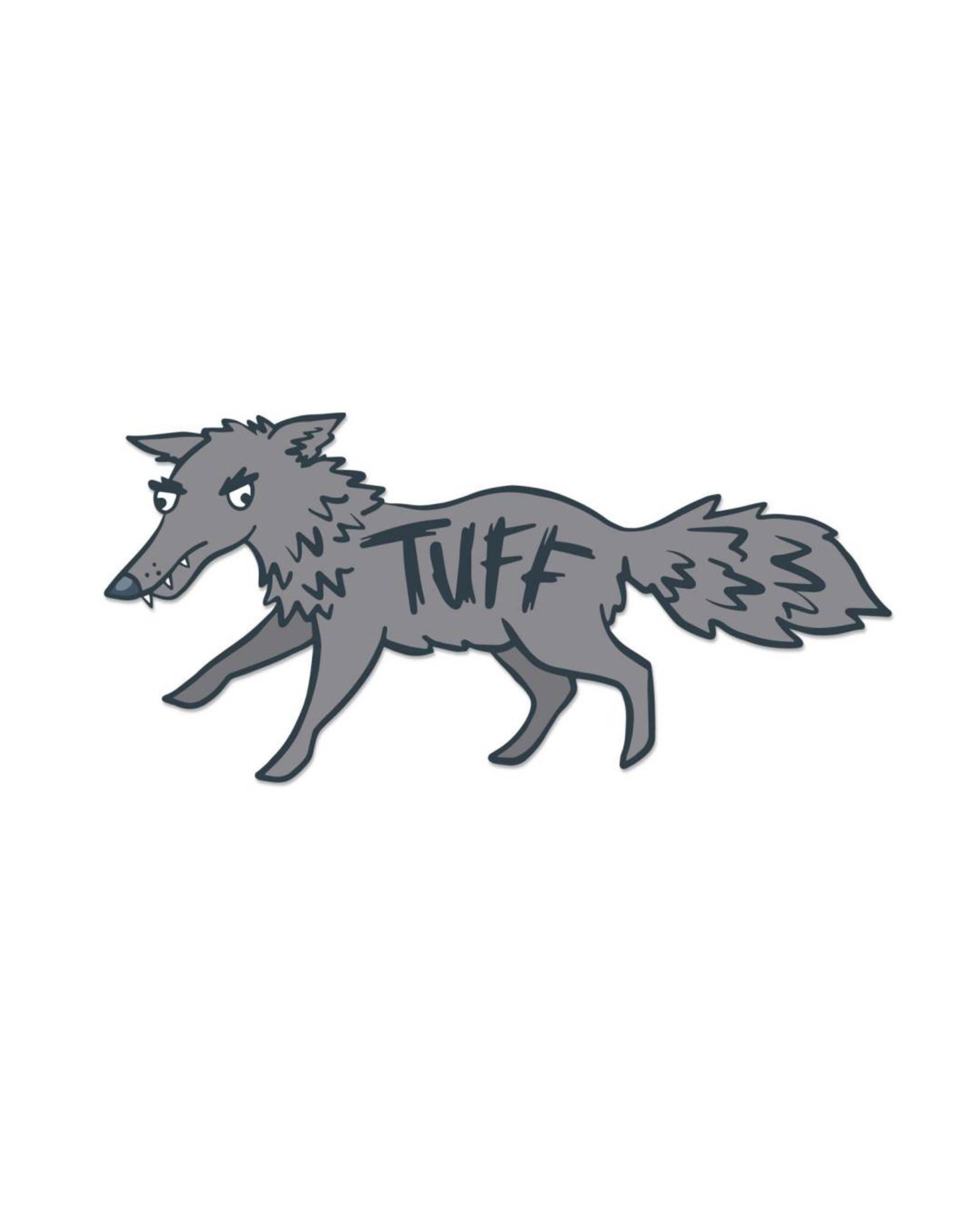 Tuff Wolf Sticker