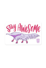 Stay Awesome Anteater Bumper Sticker