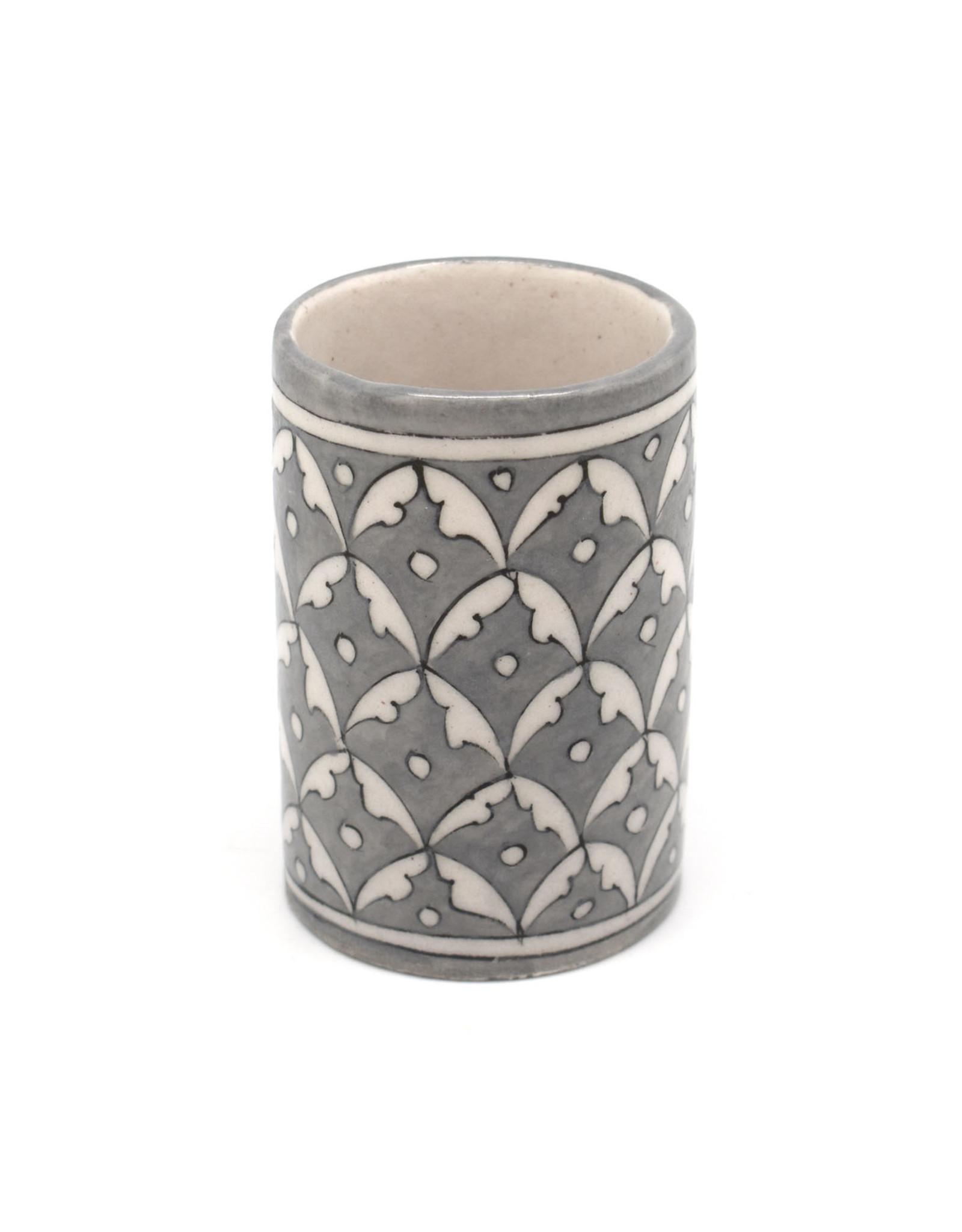 Oak Ceramic Tumbler - Silver
