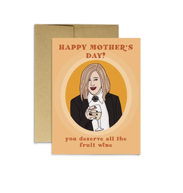 Happy Mother's Day! Fruit Wine Greeting Card