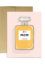 Mom Perfume Greeting Card