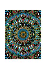 Psychedelic Mandala Print