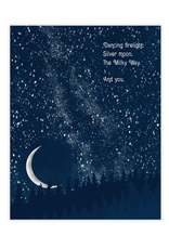 The Milky Way and You Greeting Card