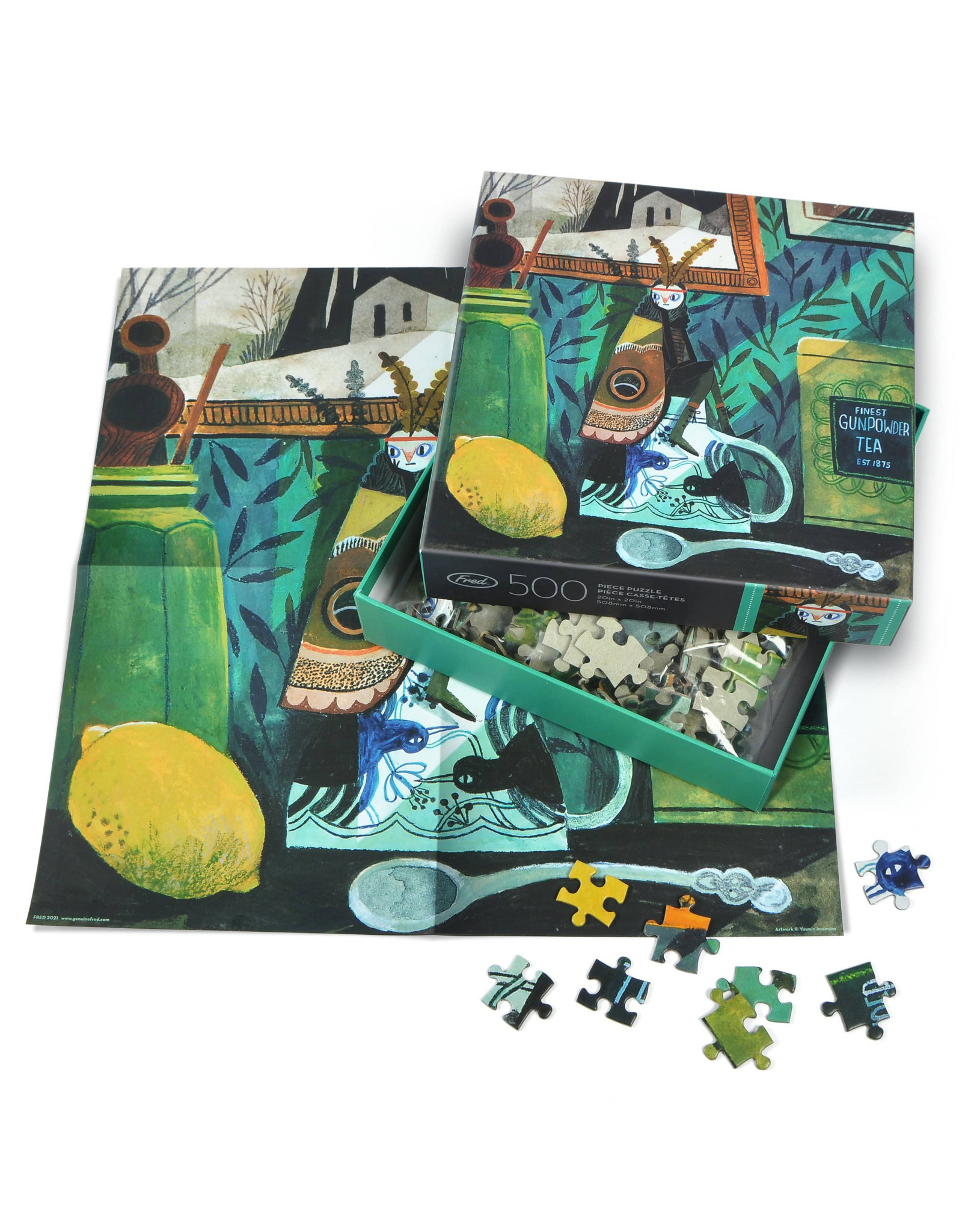 Moth Girl Puzzle - 500 Pieces
