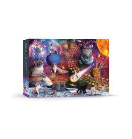 Galaxy Cats Puzzle - 1000 Pieces