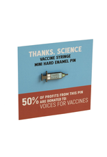 Thanks, Science Vaccine Pin