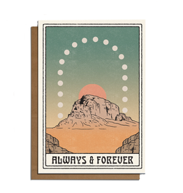 Always & Forever Plateau Greeting Card