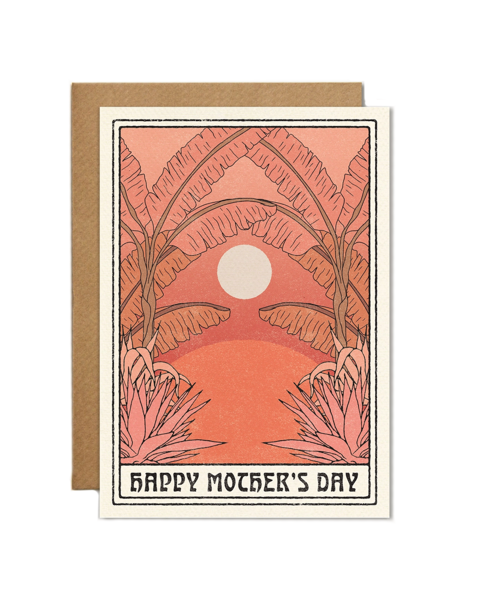 Cai & Jo Happy Mother's Day Sunset Greeting Card