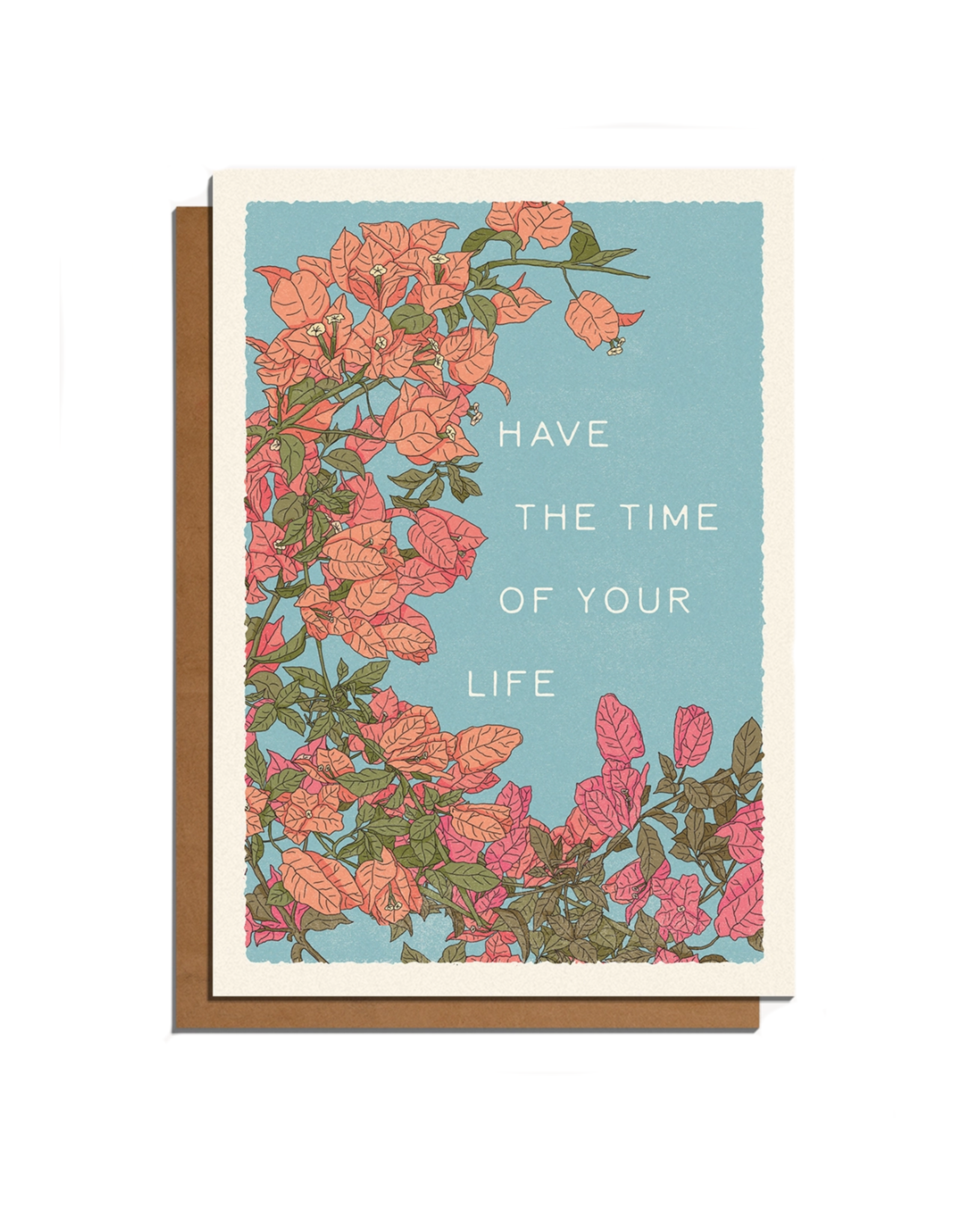 Cai & Jo Have the Time of Your Life Greeting Card