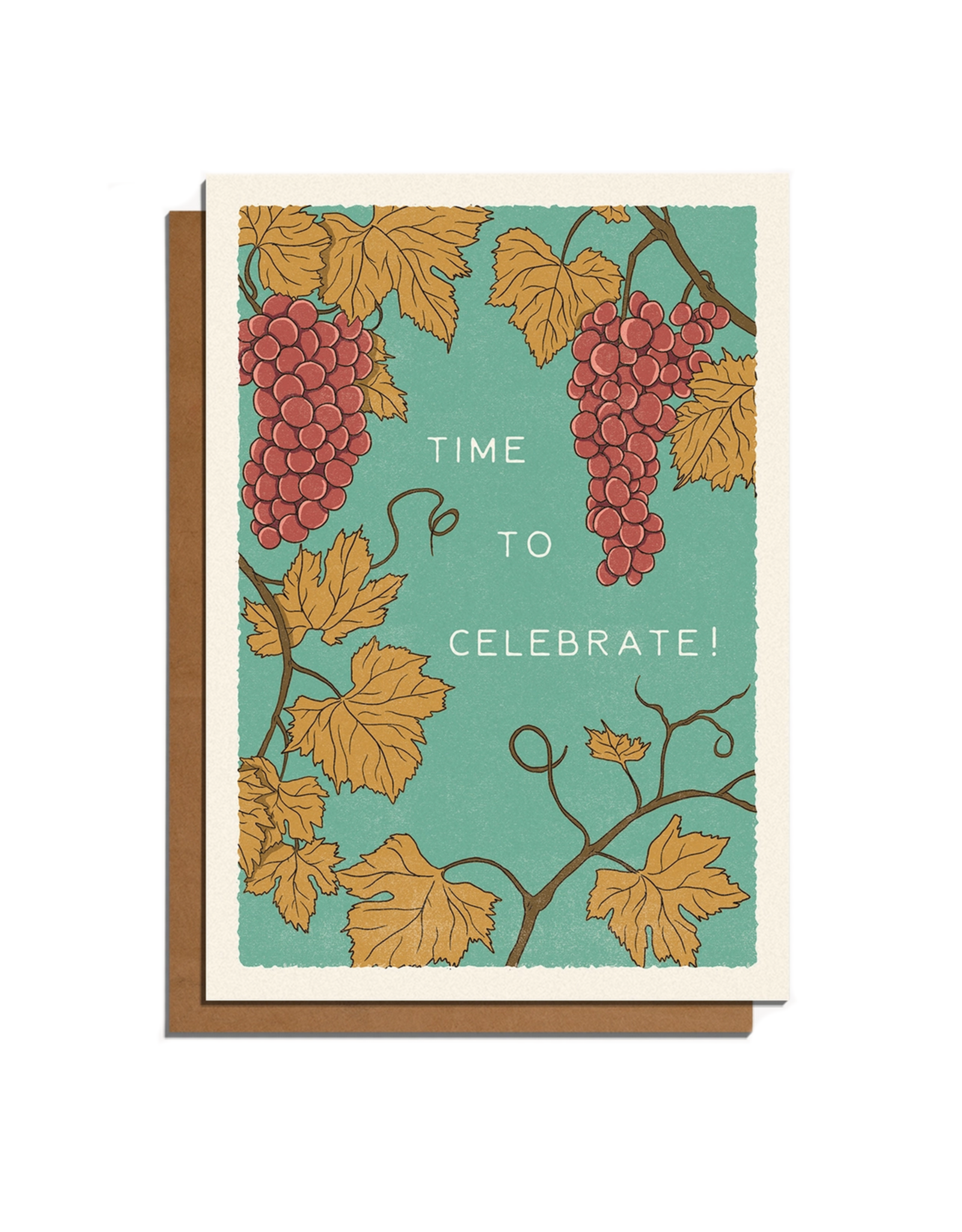 Time to Celebrate! Vines Greeting Card