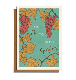 Cai & Jo Time to Celebrate! Vines Greeting Card