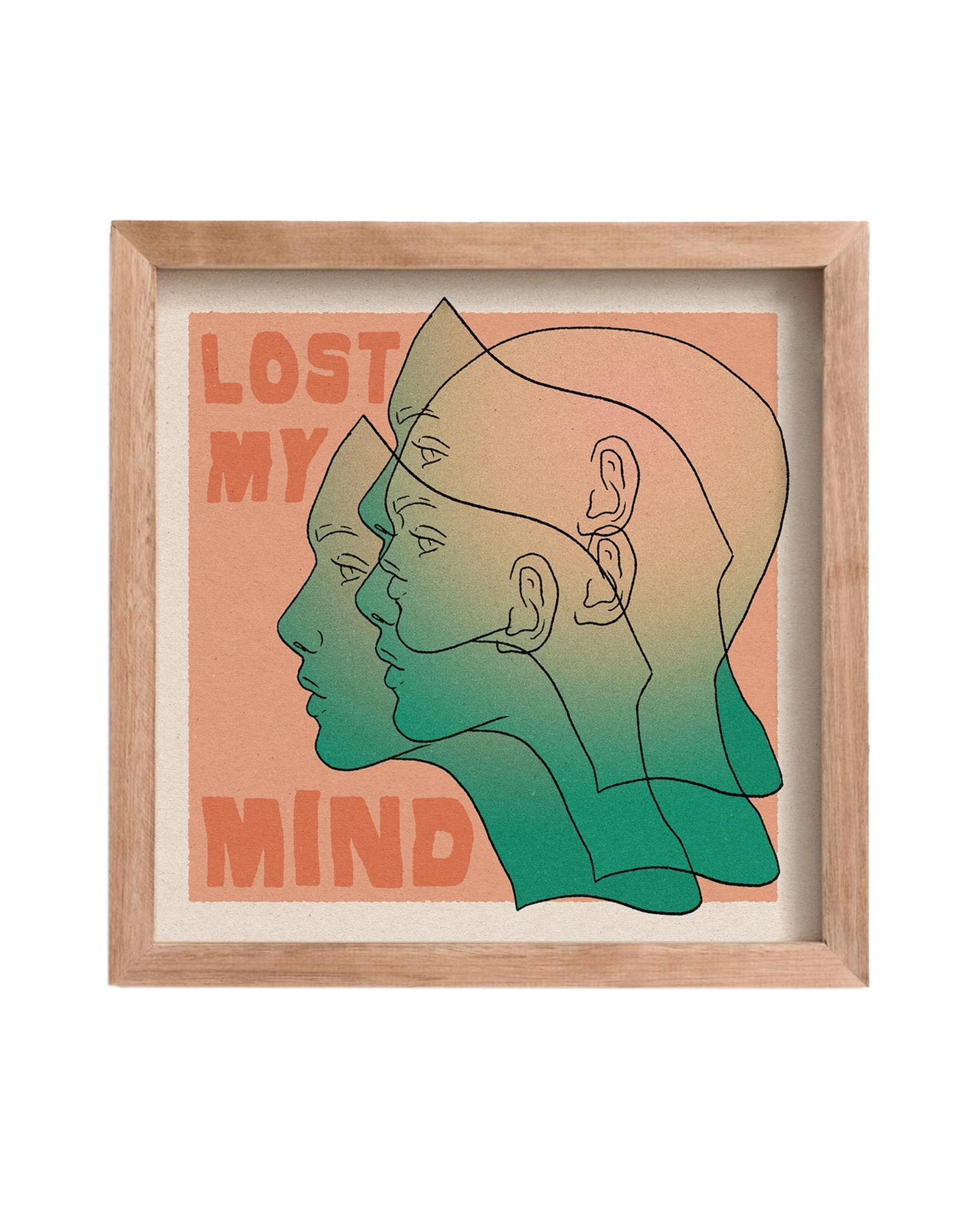 Cai & Jo Lost My Mind Print