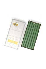 Colonial Green Taper Candle