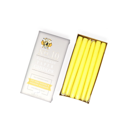Sun Yellow Taper Candle