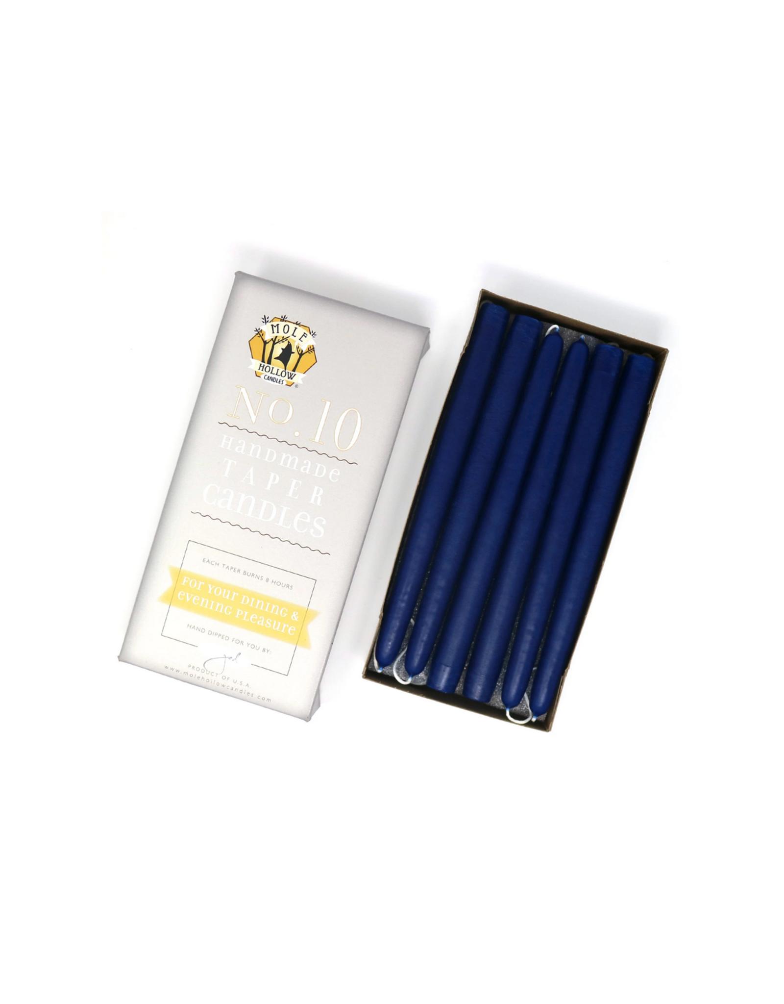 Cobalt Blue Taper Candle