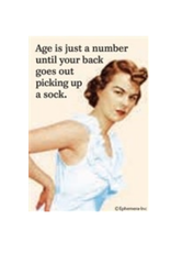 Age is Just a Number... Magnet