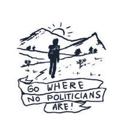 Go Where No Politicians Are! Magnet