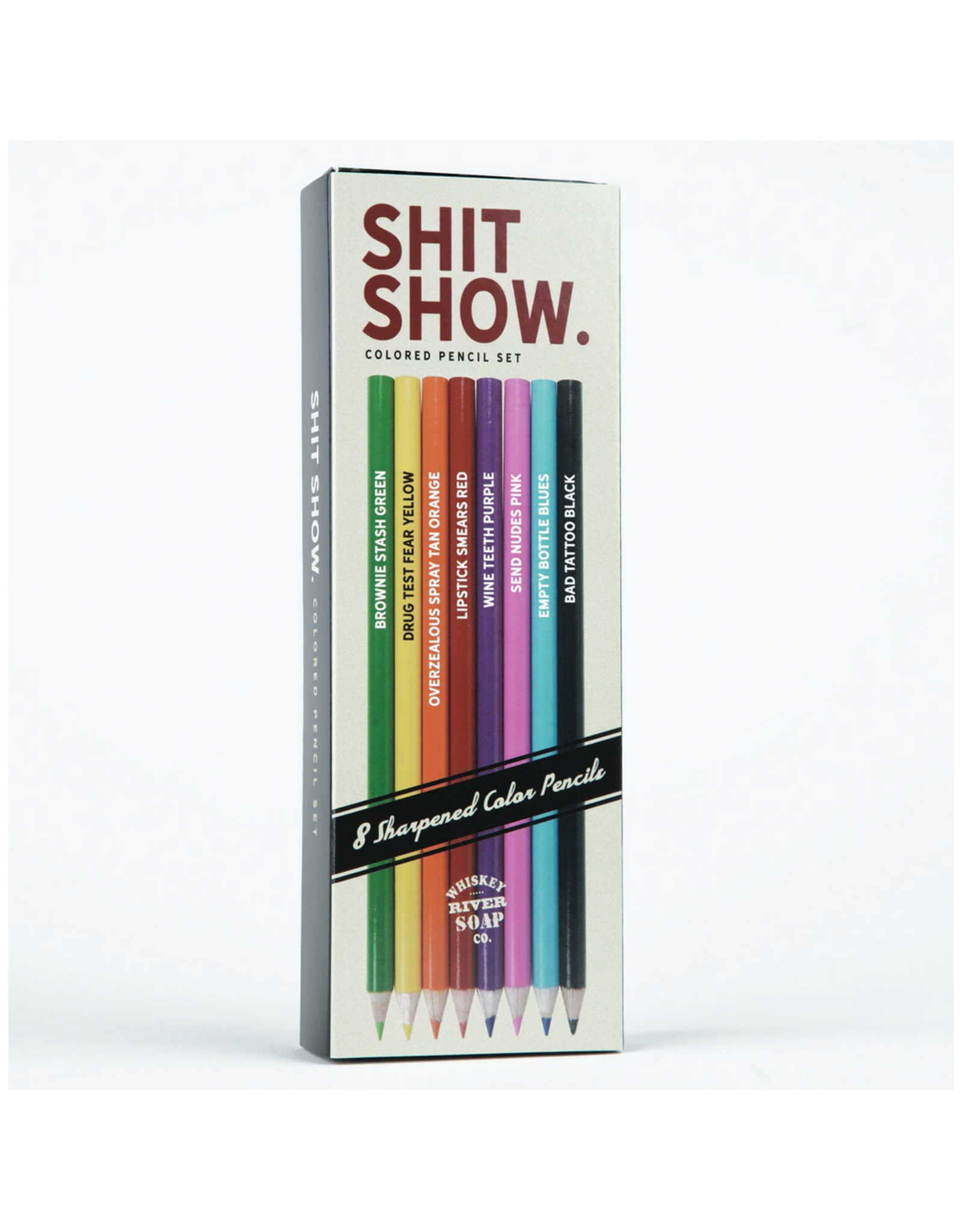 Shit Shows Colored Pencils