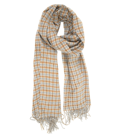 Tattersall Scarf - Chambray