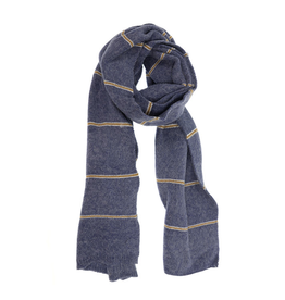 Simple Stripe Scarf - Denim