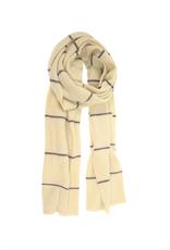 Simple Stripe Scarf - Ivory