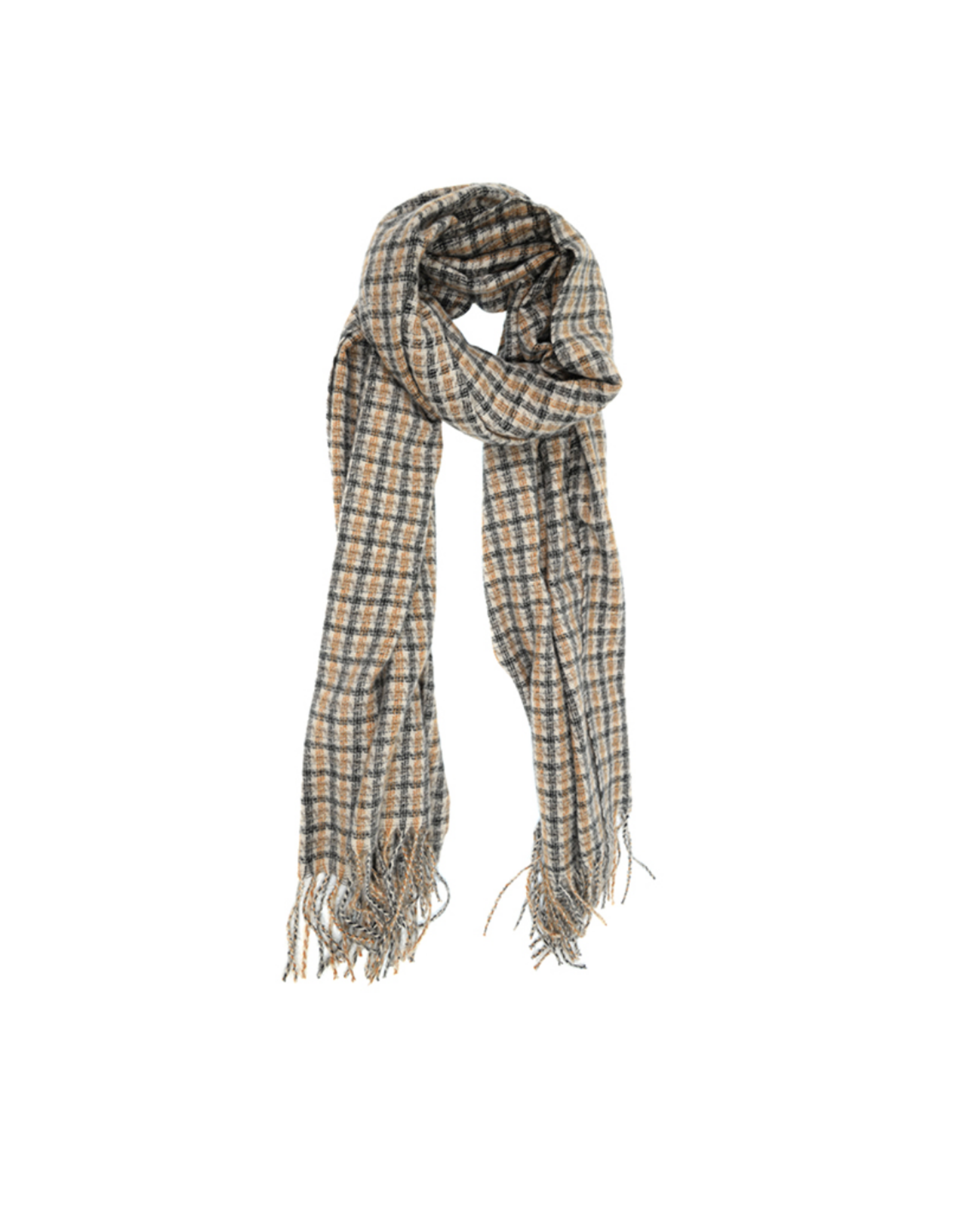 Tattersall Scarf - Black