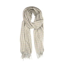 Tattersall Scarf - Light Grey
