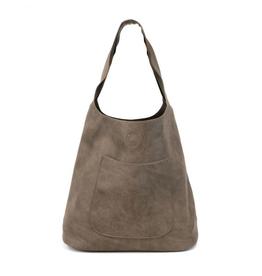Molly Slouchy Hobo Handbag : Dark Flax