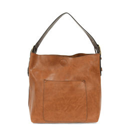 Classic Hobo Brown Handle Handbag : Chicory