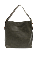 Classic Hobo Brown Handle Handbag : Juniper