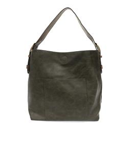 Classic Hobo Brown Handle Handbag : Juniper