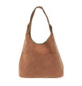 Jenny Suede Hobo Handbag : Whiskey