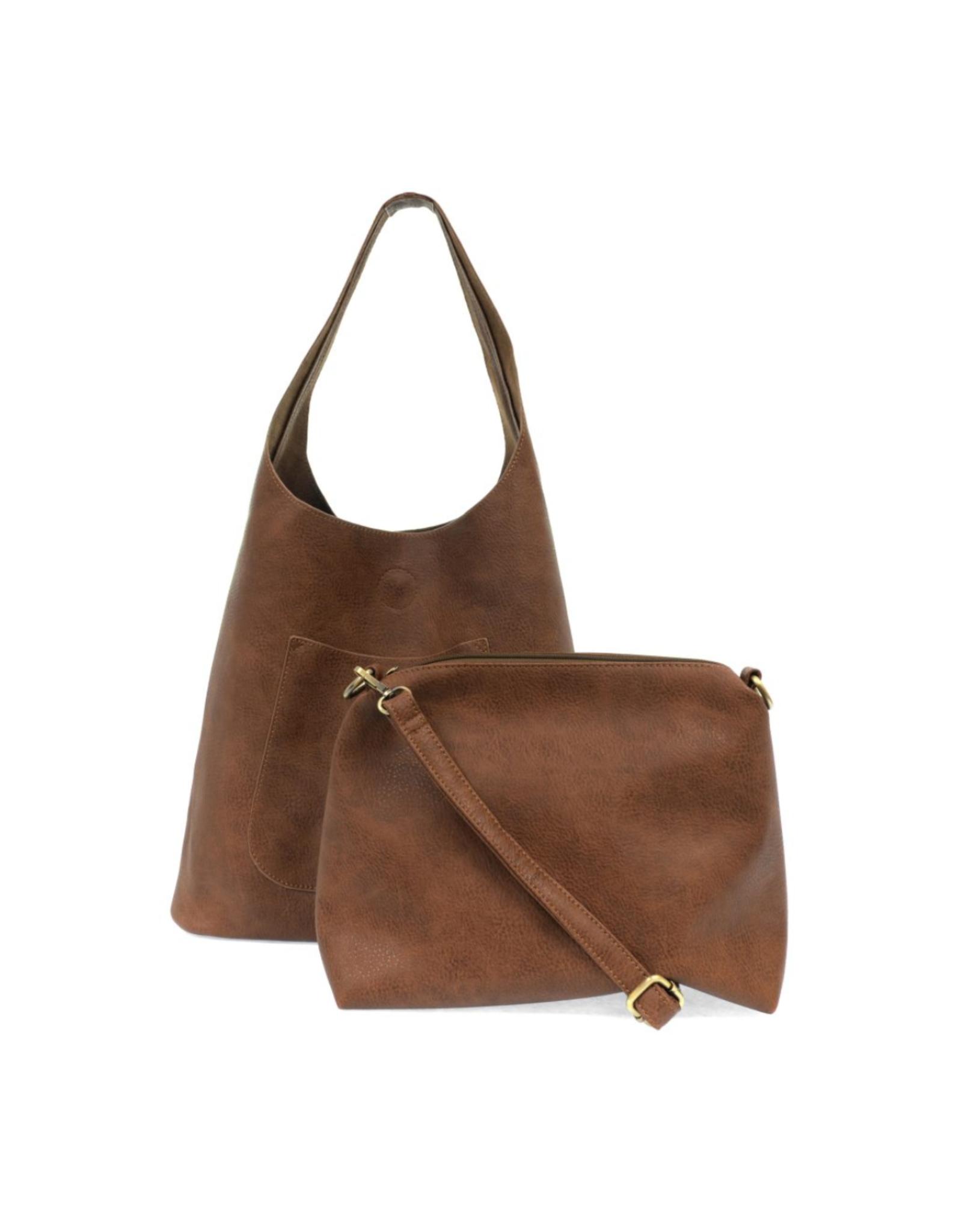Molly Slouchy Hobo Handbag : Hickory