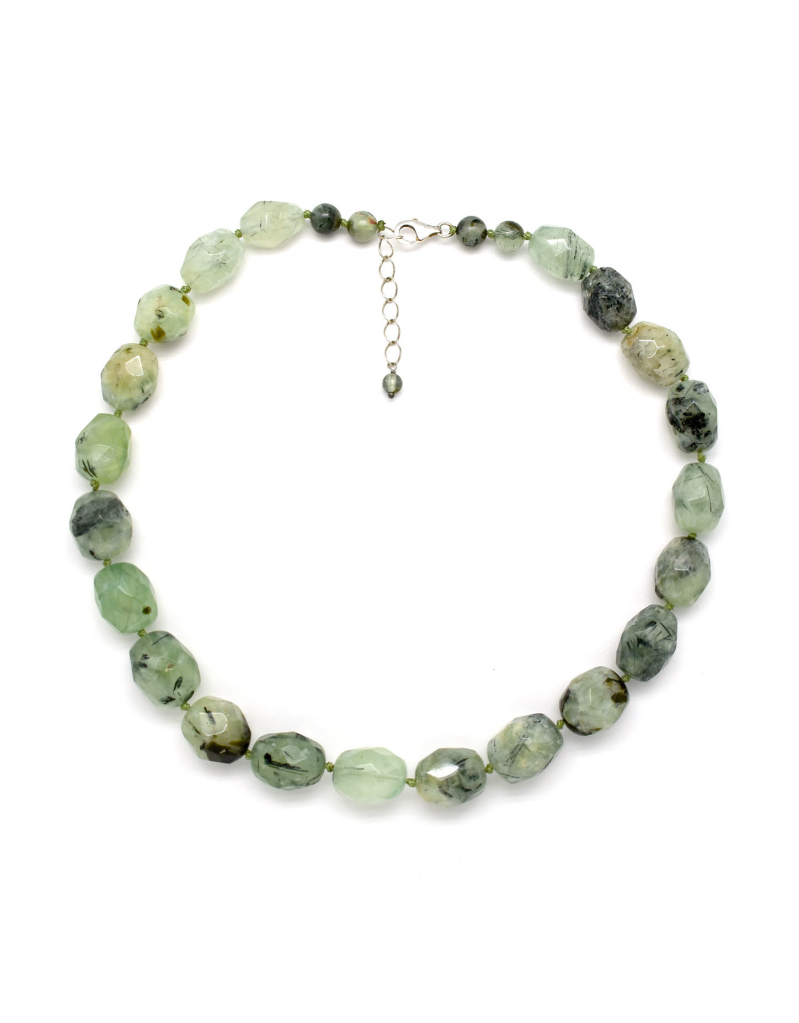 Faceted Fluorite Beaded Necklace