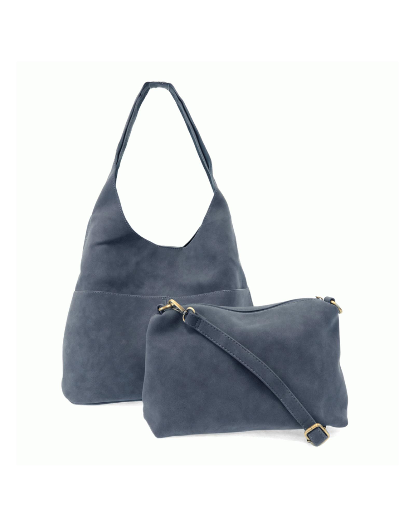 Jenny Suede Hobo Handbag : Marine