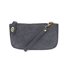 Lux Crossbody Wristlet Clutch : Midnight Blue